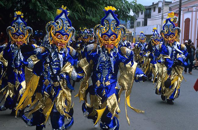 Independence Day & Mardi Gras Carnival Parade, La Vega, Dominican Republic