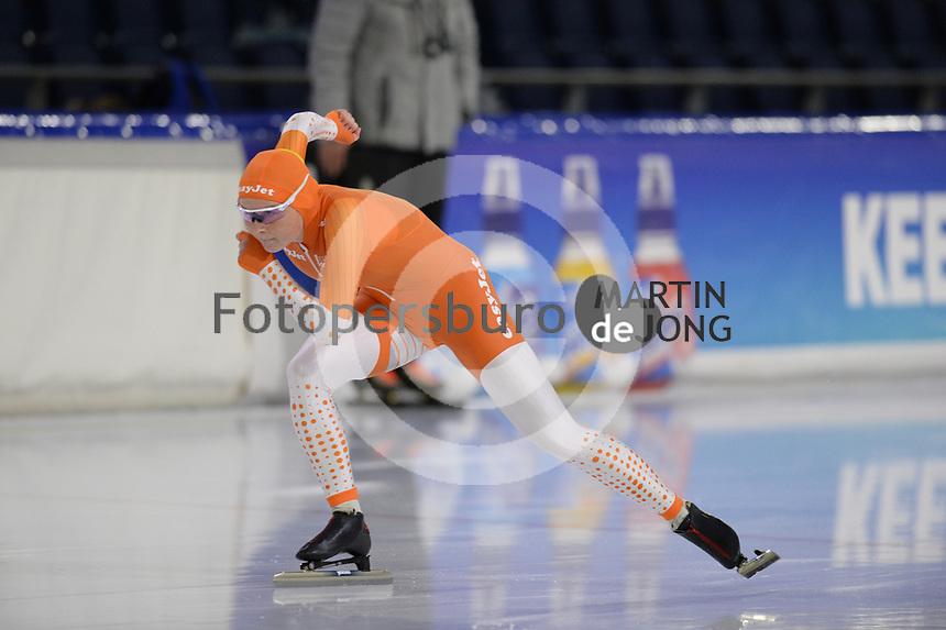 SCHAATSEN: HEERENVEEN: 10-10-2020, KNSB Trainingswedstrijd, Marijke Groenewoud, ©foto Martin de Jong