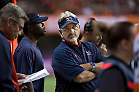 Vancouver, September, 09, 2016 - Montreal Head coach Jim Popp on the field. The Montreal Alouettes lost to the BC Lions 27-38. (Andrew Soong)