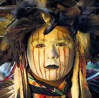 Native American costume during a Pow-wow dance contest in MacArthur Park, Little Rock, AR. Bill Elkins. Little Rock, Arkansas.