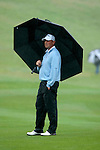 3rd June 2012 - Celtic Manor Resort - Newport - South Wales - UK :   Thomas Bjorn of Sweden at the ISPS Handa Wales Open Golf Tournament at the Celtic Manor Resort..
