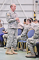 U.S. Joint Chiefs of Staff chairman General Dempsey visits Yokota Air Base