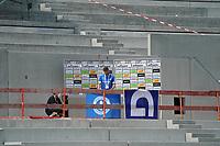 Lilien TV in der Baustelle der Haupttribüne<br /> <br /> - 24.07.2021 Fussball 2. Bundesliga, Saison 21/22, Spieltag 1, SV Darmstadt 98 - SV Jahn Regensburg, Stadion am Boellenfalltor, emonline, emspor, <br /> <br /> Foto: Marc Schueler/Sportpics.de<br /> Nur für journalistische Zwecke. Only for editorial use. (DFL/DFB REGULATIONS PROHIBIT ANY USE OF PHOTOGRAPHS as IMAGE SEQUENCES and/or QUASI-VIDEO)