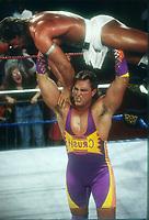 Crush vs. Lex Luger 1994 Photo By John Barrett/PHOTOlink