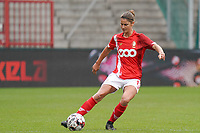 Standard's Ellen Charlier (13) gets ready for a pass during a female soccer game between Standard Femina de Liege and KRC Genk Ladies  on the third matchday of the 2020 - 2021 season of Belgian Womens Super League , Saturday 3 rd of October 2020  in Liege , Belgium . PHOTO SPORTPIX.BE   SPP   SEVIL OKTEM