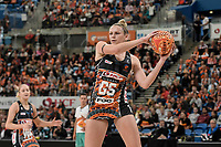 6th June 2021; Ken Rosewall Arena, Sydney, New South Wales, Australia; Australian Suncorp Super Netball, New South Wales, NSW Swifts versus Giants Netball; Jo Harten of the Giants Netball catches the ball