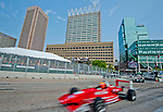 The scene during the Star Mazda race at the Baltimore Grand Prix in Baltimore, Maryland on September 4, 2011