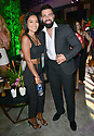 MIAMI GARDENS, FL - JUNE 06: Jeannena Flores and Jencarlos Canela attend Floyd Mayweather vs Logan Paul pre-fight VIP party at Hardrock stadium North Sildeline Club on June 6, 2021 in Miami Gardens, Florida.  ( Photo by Johnny Louis / jlnphotography.com )