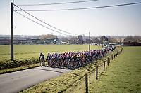 peloton<br /> <br /> 73rd Kuurne - Brussels - Kuurne 2021<br /> ME (1.Pro)<br /> 1 day race from Kuurne to Kuurne (BEL/197km)<br /> <br /> ©kramon