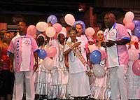 SAO PAULO, SP, 09 DE DEZEMBRO DE 2011, Integrantes da Rosas de Ouro, no LANÇAMENTO DO CD DA LIGA DAS ESCOLAS DE SAMBA 2012 na quadra da Escola de Samba Rosas de Ouro, zona norte de SP.  (FOTO: MILENE CARDOSO / NEWS FREE)
