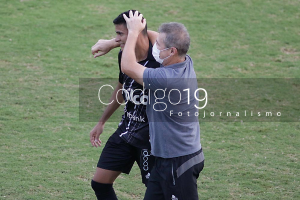 Campinas (SP), 24/01/2021 - Ponte Preta - CRB - Bruno Rodrigues comemora gol da Ponte Preta. Partida entre Ponte Preta e CRB valida pelo Campeonato Brasileiro da Serie B neste domingo (24) no estadio Moises Lucarelli em Campinas, interior de Sao Paulo.