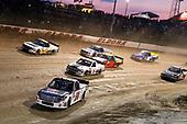#54: Kyle Strickler, DGR-Crosley, Toyota Tundra DGR-Crosley Driver Development and #02: Tyler Dippel, Young's Motorsports, Chevrolet Silverado Jersey Filmmaker
