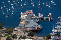aerial photograph Fisherman's Wharf, Monterey, California