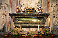 Urn of St Ranieri , The chapel of San Ranieri, Pisa Duomo, Italy