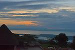 Sunrise in Akagara Park, Rwanda.