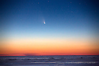 Comet Pan-Starrs over Headlands International Dark Sky Park