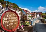 Deutschland, Baden-Wuerttemberg, Schwarzwald, Ortenaukreis, Weinort Durbach: Ortszentrum | Germany, Baden-Wuerttemberg, Black Forest, District Ortenau, Durbach: wine village centre