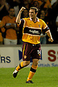 22/08/2006        Copyright Pic: James Stewart.File Name : sct_jspa19_motherwell_v_partick.STEVEN MCGARRY CELEBRATES SCORING MOTHERWELL'S WINNER.....Payments to :.James Stewart Photo Agency 19 Carronlea Drive, Falkirk. FK2 8DN      Vat Reg No. 607 6932 25.Office     : +44 (0)1324 570906     .Mobile   : +44 (0)7721 416997.Fax         : +44 (0)1324 570906.E-mail  :  jim@jspa.co.uk.If you require further information then contact Jim Stewart on any of the numbers above.........