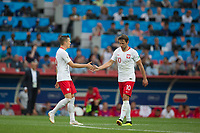 Moscow, RUSSIA - Tuesday, June 19, 2018: Senegal beat Poland 2-1 at Spartak Stadium in Moscow.