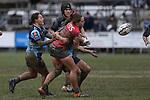 NELSON, NEW ZEALAND -AUGUST 8: Farah Palmer Cup Tasman Mako v Northland Kauri, Sports Park Motueka Nelson ,Sunday 8 August 2021,Nelson New Zealand. (Photo by  Shuttersport Limited)