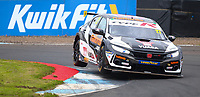 29th August 2020; Knockhill Racing Circuit, Fife, Scotland; Kwik Fit British Touring Car Championship, Knockhill, Qualifying Day; Dan Cammish in action during qualifying
