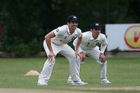 Wanstead and Snaresbrook CC (fielding) vs Brentwood CC, Hamro Foundation Essex League Cricket at Overton Drive on 19th June 2021