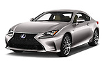2017 Lexus RC F-SPORT-Line 2 Door Coupe Angular Front stock photos of front three quarter view