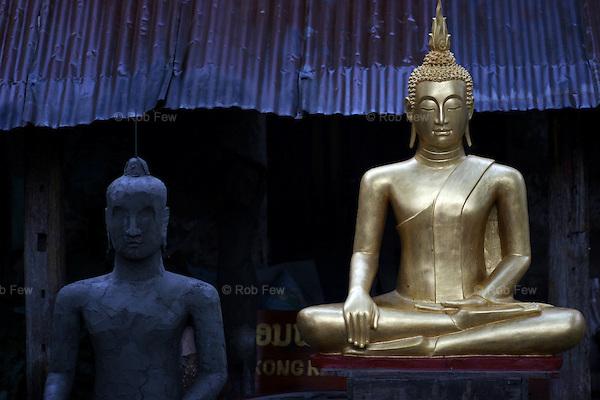 Early morning Buddha.