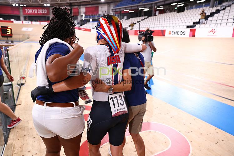 Picture by Alex Whitehead/SWpix.com - Tokyo Paralympics 2020 - 25/08/2021 - Track Cycling - Izu Velodrome, Izu, Japan<br /> - Women's 3000m Individual Pursuit