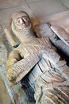 Knights Templar effigy tomb Temple Church, Inns of Court, London UK Gilbert Marshal, 4th Earl of Pembroke