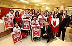 Ottawa, ON - March 28 2014- Ottawa's Sochi Paralympians with Ottawa CIBC employees at the CIBC South Keys Banking Centre (Photo: Patrick Doyle/CIBC)