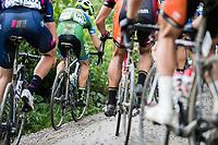 Massimo Vanderaerden (BEL/An Post-Chain Reaction) over the gravel<br /> <br /> Dwars door het Hageland (1.1)<br /> 1 Day Race: Aarschot > Diest (194km)