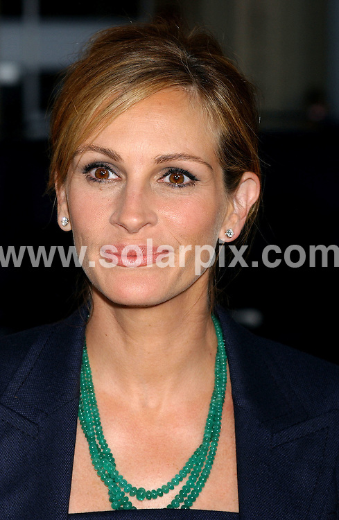 **ALL ROUND PICTURES FROM SOLARPIX.COM**                                 **NO SYNDICATION IN USA** .Premiere of new movie, Larry Crowne at the Graumans Chinese Theatre in Hollywood, Ca. on June 27, 2011.                     .This pic:    Julia Roberts                                                                                     JOB REF:    13635    GLS       DATE:    28.06.11                                                         **MUST CREDIT SOLARPIX.COM OR DOUBLE FEE WILL BE CHARGED**                                                                        **MUST NOTIFY SOLARPIX OF ONLINE USAGE**                 **CALL US ON: +34 952 811 768 or LOW RATE FROM UK 0844 617 7637**