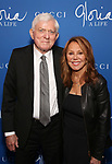 """Phil Donahue and Marlo Thomas attend the Opening Night Performance After Party for """"Gloria: A Life"""" on October 18, 2018 at the Gramercy Park Hotel in New York City."""