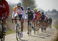111th Paris-Roubaix 2013..Jens Debusschere (BEL)