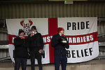 Kidderminster Harriers 3 Gainsborough Trinity 0, 19/11/2016. Aggborough, National League North. Home fans sample refreshments at Aggborough, home of Kidderminster Harriers before they played visitors Gainsborough Trinity in a National League North fixture. Harriers were formed in 1886 and have played at their current home since 1890. They won this match  by 3-0 watched by a crowd of 1465. Photo by Colin McPherson.