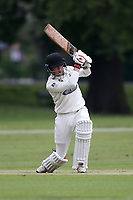 R Saunders in batting action for Hornchurch during Hornchurch CC vs Wanstead and Snaresbrook CC, Hamro Foundation Essex League Cricket at Harrow Lodge Park on 10th July 2021