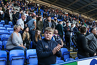 A Preston North End supporter applauds his team at the end of the match <br /> <br /> Photographer Andrew Kearns/CameraSport<br /> <br /> The EFL Sky Bet Championship - Reading v Preston North End - Saturday 30th March 2019 - Madejski Stadium - Reading<br /> <br /> World Copyright © 2019 CameraSport. All rights reserved. 43 Linden Ave. Countesthorpe. Leicester. England. LE8 5PG - Tel: +44 (0) 116 277 4147 - admin@camerasport.com - www.camerasport.com