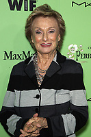 Women In Film Pre-Oscar Cocktail Party Presented By Perrier-Jouet, MAC Cosmetics & MaxMara At Fig & Olive Melrose Place<br /> <br /> Featuring: Cloris Leachman<br /> Where: West Hollywood, California, United States<br /> When: 01 Mar 2014<br /> Credit: FayesVision/WENN.com