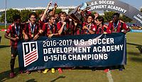 2017 DA U-15/16 Championship, Atlanta United FC vs FC Dallas, July 16, 2017