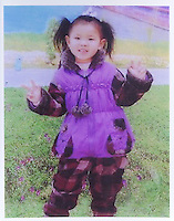 Xu Qian (4), born in Apr 2004. Missing in the opposite Hui Fu Supermarket of Jiang Cheng in Dongguan on 18 Oct 2008.  Girls in China are increasingly targeted and stolen as there is a shortage of wives as the gender imbalance widens with 120 boys for every 100 girls...PHOTO BY SINOPIX