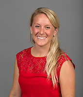 STANFORD, CA - AUGUST 15, 2014-Kaela Hoch, with the  Stanford Athletic department.