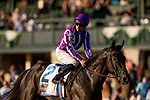 OCT 05: Van Beethoven and Wayne Lordan at the Shadwell Turf Mile at Keeneland Racecourse, Kentucky on October 05, 2019. Evers/Eclipse Sportswire/CSM