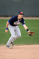 January 17, 2010:  Matt Anderson (Hinsdale, IL) of the Baseball Factory American Team during the 2010 Under Armour Pre-Season All-America Tournament at Kino Sports Complex in Tucson, AZ.  Photo By Mike Janes/Four Seam Images