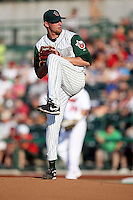Fort Wayne TinCaps Jerry Sullivan during the Midwest League All Star Game at Parkview Field in Fort Wayne, IN. June 22, 2010. Photo By Chris Proctor/Four Seam Images