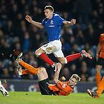 Gavin Brown tackles Lewis MacLeod