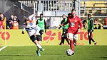 Jan-Hendrik Marx im Spiel gegen den 1.FC Kaiserslautern beim Spiel in der 3. Liga, 1. FC Kaiserslautern - SV Waldhof Mannheim.<br /> <br /> Foto © PIX-Sportfotos *** Foto ist honorarpflichtig! *** Auf Anfrage in hoeherer Qualitaet/Aufloesung. Belegexemplar erbeten. Veroeffentlichung ausschliesslich fuer journalistisch-publizistische Zwecke. For editorial use only. DFL regulations prohibit any use of photographs as image sequences and/or quasi-video.