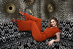 """Katlyn Carlson from """"Be More Chill"""" during her Broadway Debut photo shoot at the Room Mate Grace Hotel on February 20, 2019 in New York City."""