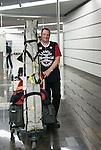 Kaspar Wirz, Sochi 2014.<br /> Team Canada arrives at the airport in Sochi for the Sochi 2014 Paralympic Winter // Équipe Canada arrive à l'aéroport de Sotchi pour Sochi 2014 Jeux paralympiques d'hiver. 04/03/2014.
