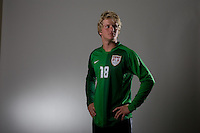 Brian Perk. U20 men's national team portrait photoshoot before the start of the FIFA U-20 World Cup in Canada. June 22, 2007.